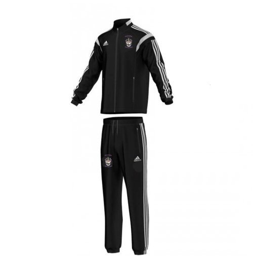 Ormskirk Hockey Club Adidas Black Presentation Tracksuit