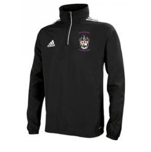 Ormskirk Hockey Club Adidas Black Windbreaker