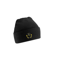 The Soccer Akidemy Black Beanie (Adult Sizes)