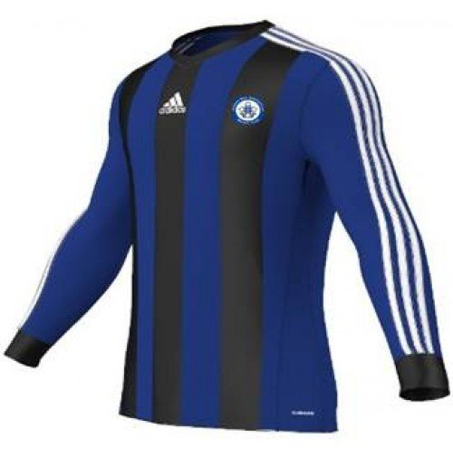 Trinity Mid-Whitgiftian Hockey Club Estro Blue/Black Long Sleeve Playing Shirt