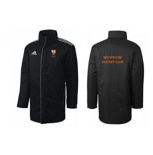 Wilmslow Hockey Club Black Adidas Bench Jacket
