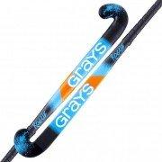2020/21 Grays Rogue Ultrabow Junior Hockey Stick - Black/Blue