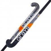 2020/21 Grays KN9 Jumbow Hockey Stick - Grey/Orange