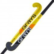 2020/21 Grays KN5 Dynabow Hockey Stick - Black/Yellow/Orange