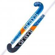 2020/21 Grays GR 10000 Jumbow Hockey Stick - Black/Blue/Orange