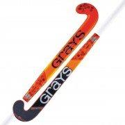 2021/22 Grays GR 8000 Midbow Hockey Stick - Red/Black