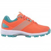2021/22 Grays Flash 2.0 Womens Hockey Shoes - Coral/Teal