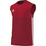 Kirkby Lonsdale Hockey Club Adidas Red Training Vest