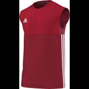 Kirkby Lonsdale Hockey Club Adidas Red Training Vest