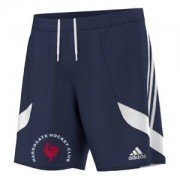 Harrogate HC Adidas Navy Training Shorts