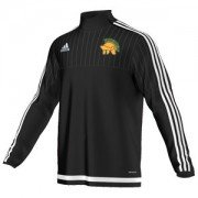 Leeds Adel HC Adidas Black Junior Training Top