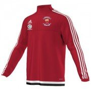 Grimsby HC Adidas Red Training Top