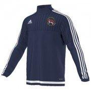 Shrewsbury Hockey Club Adidas Navy Training Top