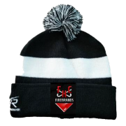 Firebrands Hockey Club Black AR Bobble Beanie
