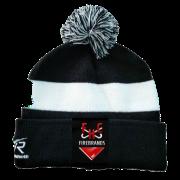 Firebrands Hockey Club Black AR Bobble Beanie