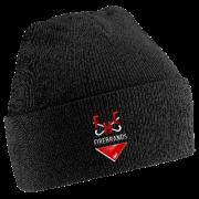 Firebrands Hockey Club Black Beanie