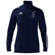 Gateshead Hockey Club Adidas Navy Zip Training Top