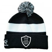 Kirkby Lonsdale Hockey Club Black AR Bobble Beanie