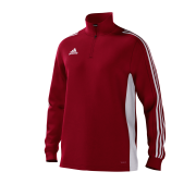Grimsby Hockey Club Adidas Red Junior Training Top