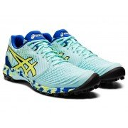 Asics Field Ultimate FF Womens Hockey Shoes - Blue/Yellow