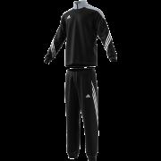 Barnsley HC Adidas Black Presentation Tracksuit