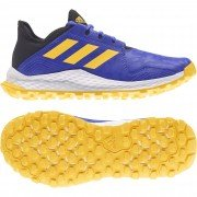 Adidas Youngstar Hockey Shoes - Blue/Yellow