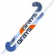 2021/22 GRAYS GX 3000 ULTRABOW JUNIOR HOCKEY STICK - ICE BLUE
