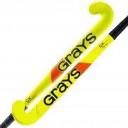 2021/22 Grays GX 1000 Ultrabow Junior Hockey Stick - Fluo Pink