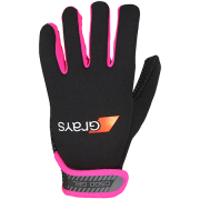 2018/19 Grays G500 Hockey Gloves - Black/Fluo Pink