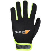 2018/19 Grays G500 Hockey Gloves - Black/Fluo Yellow