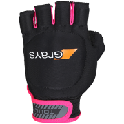 2018/19 Grays Touch Hockey Glove - Black/Fluo Pink