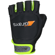2018/19 Grays Touch Hockey Glove - Black/Fluo Yellow