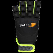 2018/19 Grays Anatomic Pro Hockey Glove - Black/Fluo Yellow