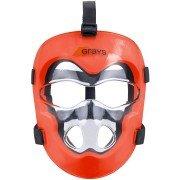 Grays Hockey Facemask - Orange/Clear