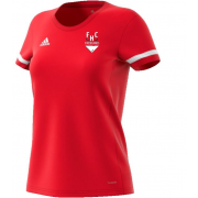 Firebrands Hockey Club Womens Red Junior Playing Shirt