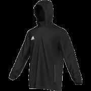 Barnsley HC Adidas Black Rain Jacket