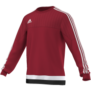 Kirkby Lonsdale Hockey Club Adidas Red Sweatshirt