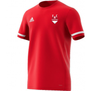 Firebrands Hockey Club Mens Red Playing Shirt