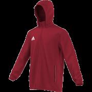 Wakefield Wanderers HC Adidas Red Rain Jacket