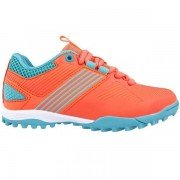 Grays Flash 2.0 Junior Hockey Shoes - Coral/Teal
