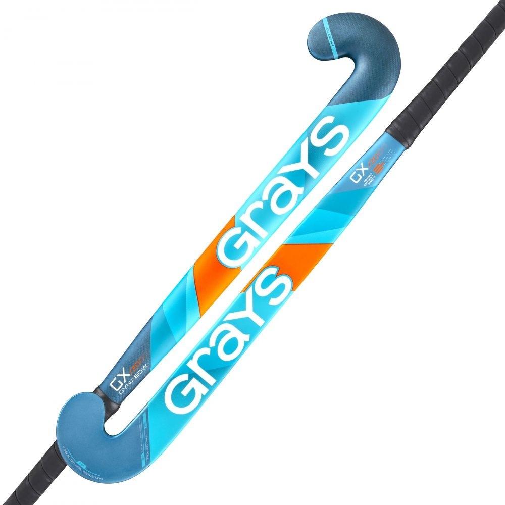2021/22 Grays GX 2000 Dynabow Hockey Stick - Teal