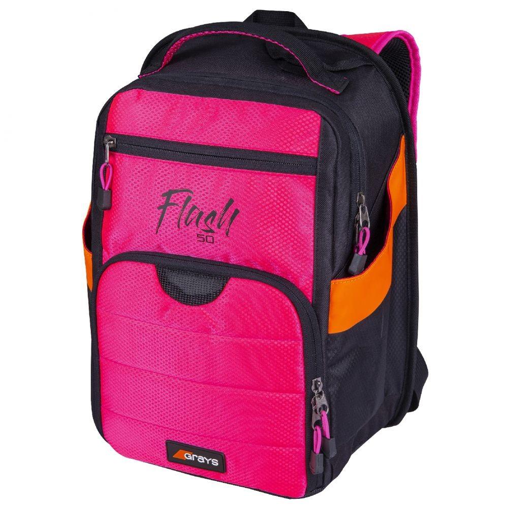 2021/22 Grays Flash 50 Hockey Backpack - Black/Pink
