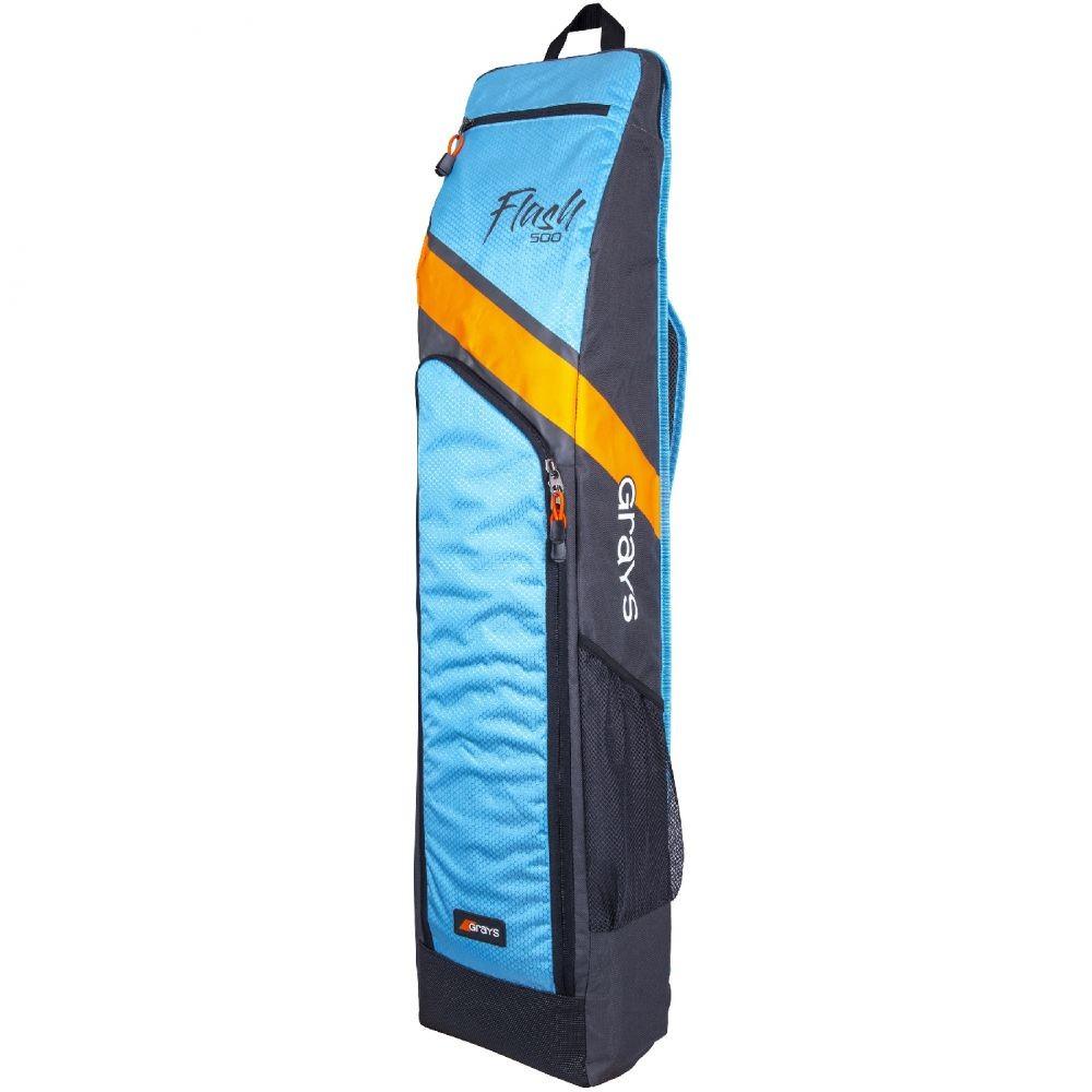 2021/22 Grays Flash 500 Hockey Stick Bag - Charcoal/Sky