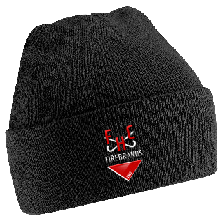Firebrands Hockey Club Black Beanie
