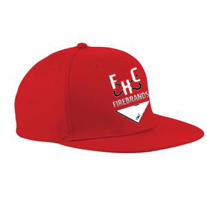 Firebrands Hockey Club Red Snapback Cap