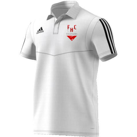 Firebrands Hockey Club Adidas White Polo