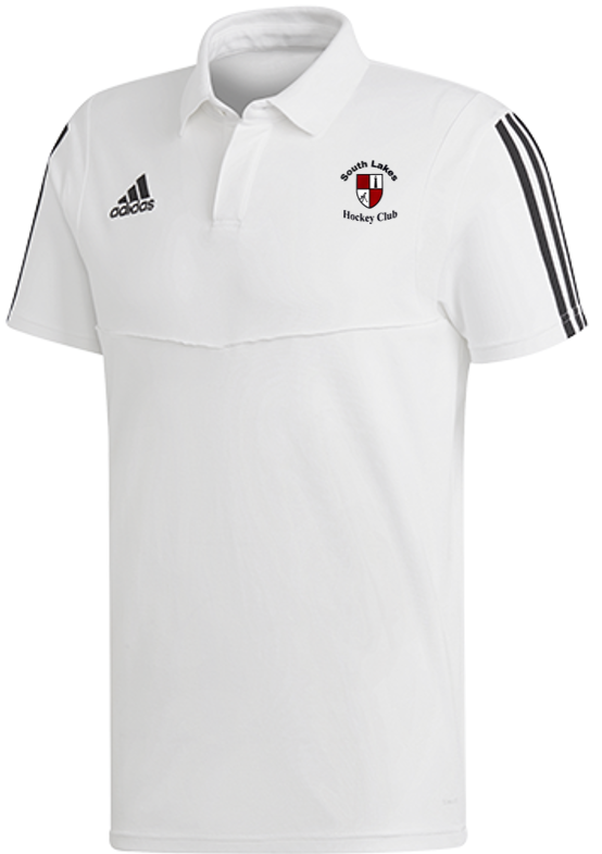 South Lakes Hockey Club Adidas White Polo