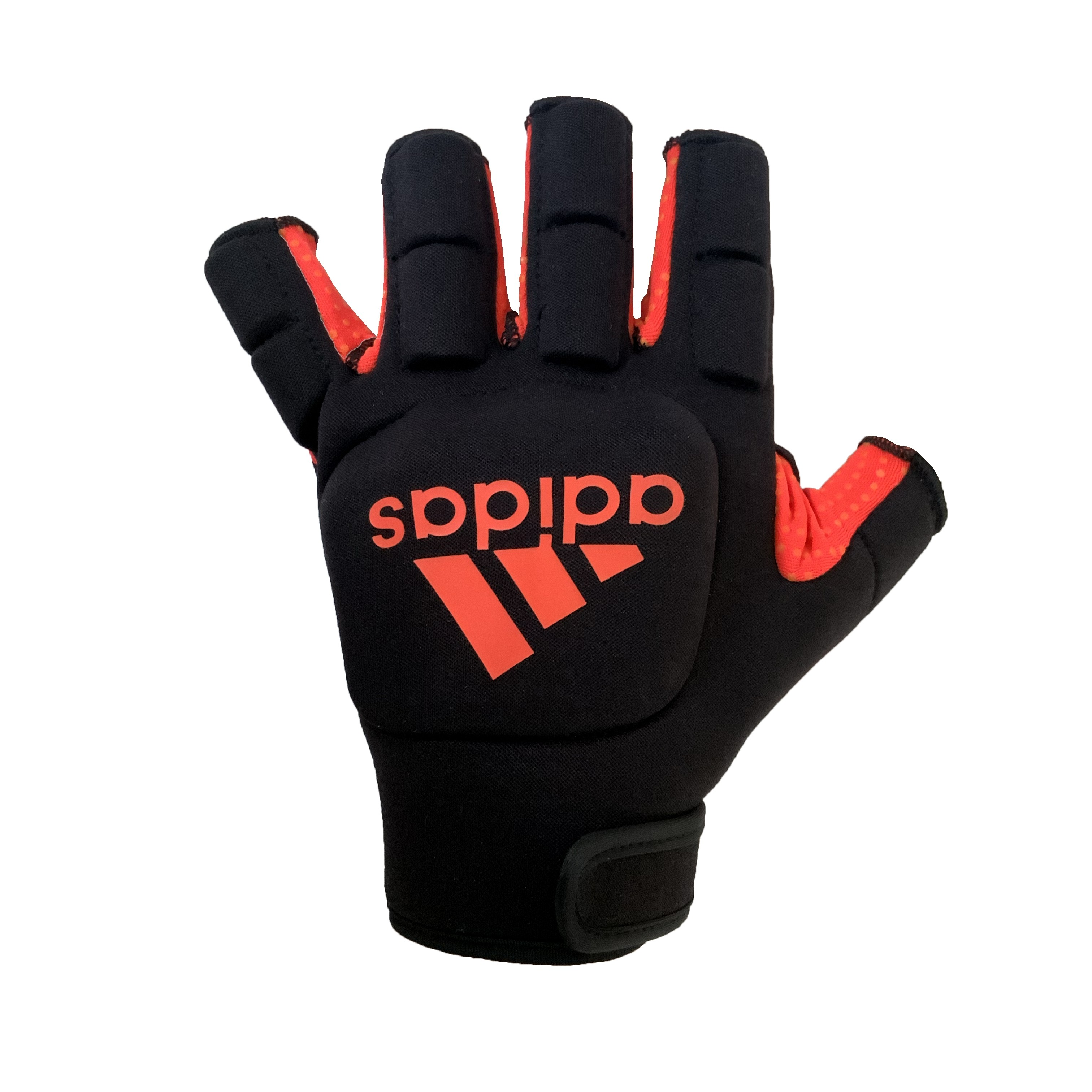 2021/22 Adidas Hockey OD Hockey Gloves - Black