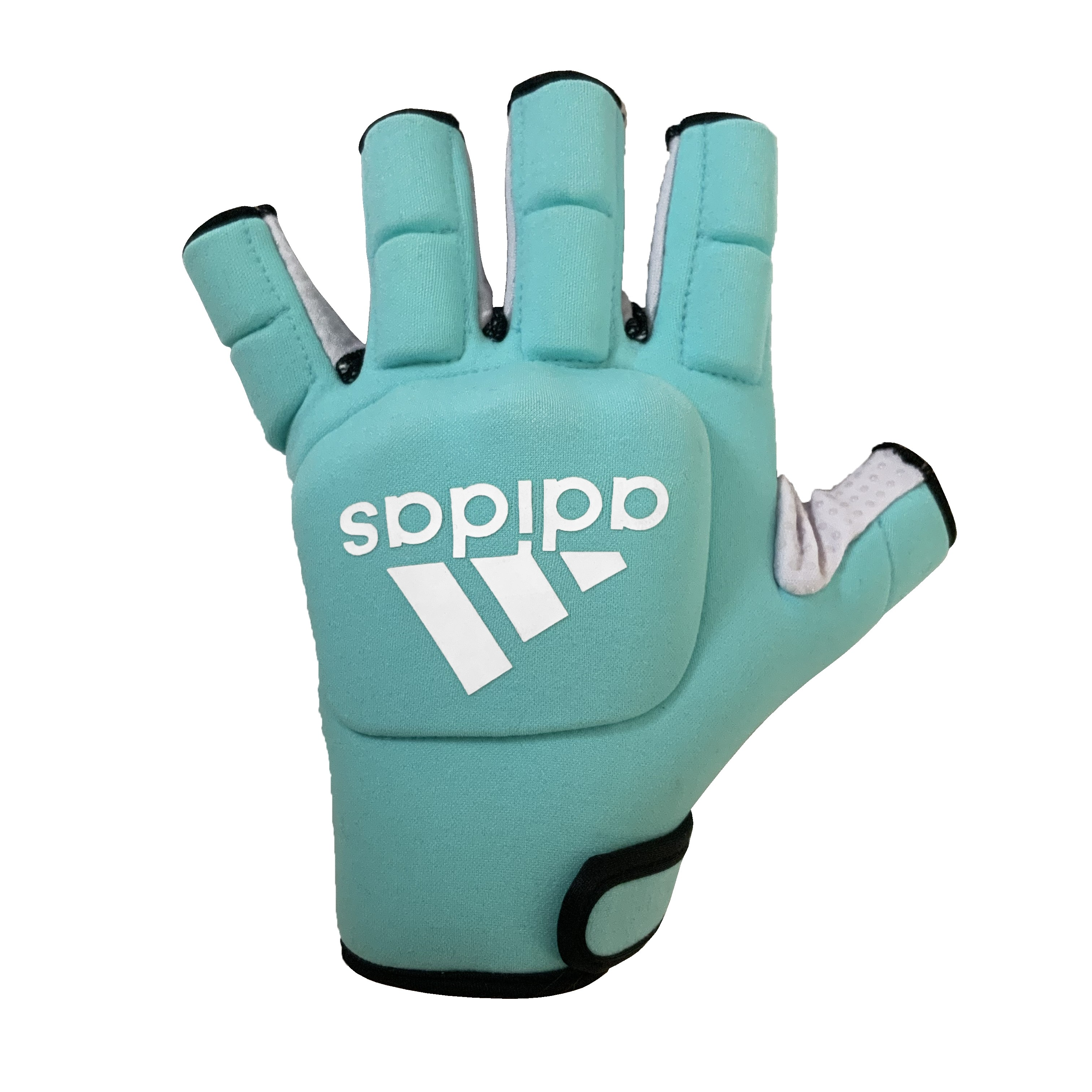 2021/22 Adidas Hockey OD Hockey Gloves - Aqua