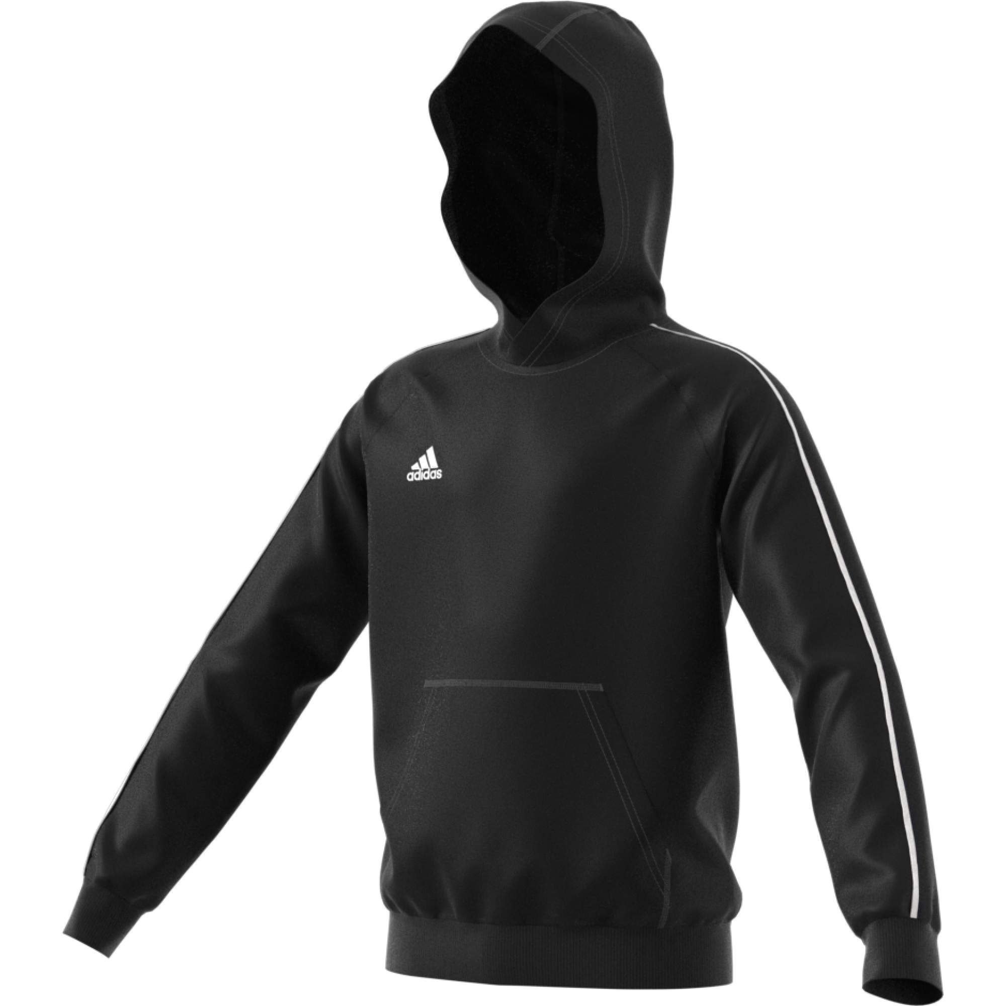 Firebrands Hockey Club Adidas Black Junior Fleece Hoody